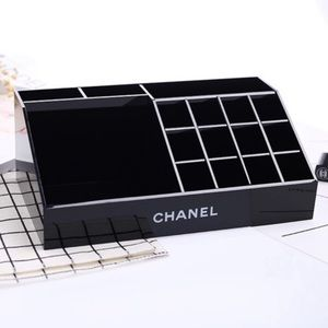Chanel Acrylic Make-up Organizer in Black